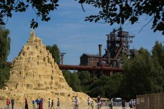 Größte Sandburg der Welt